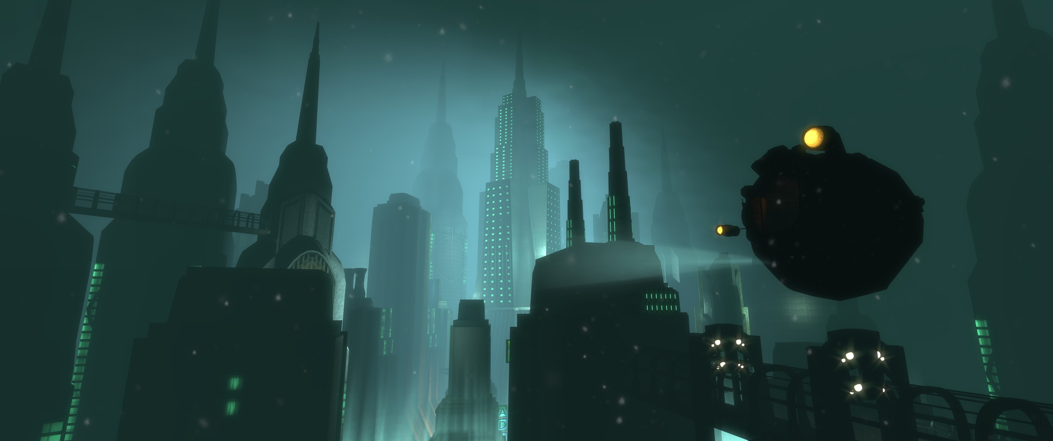 3440x1440 Rapture Bioshock Wallpaper And Background Bioshock Rapture 3440x1440 Wallpaper Teahub Io