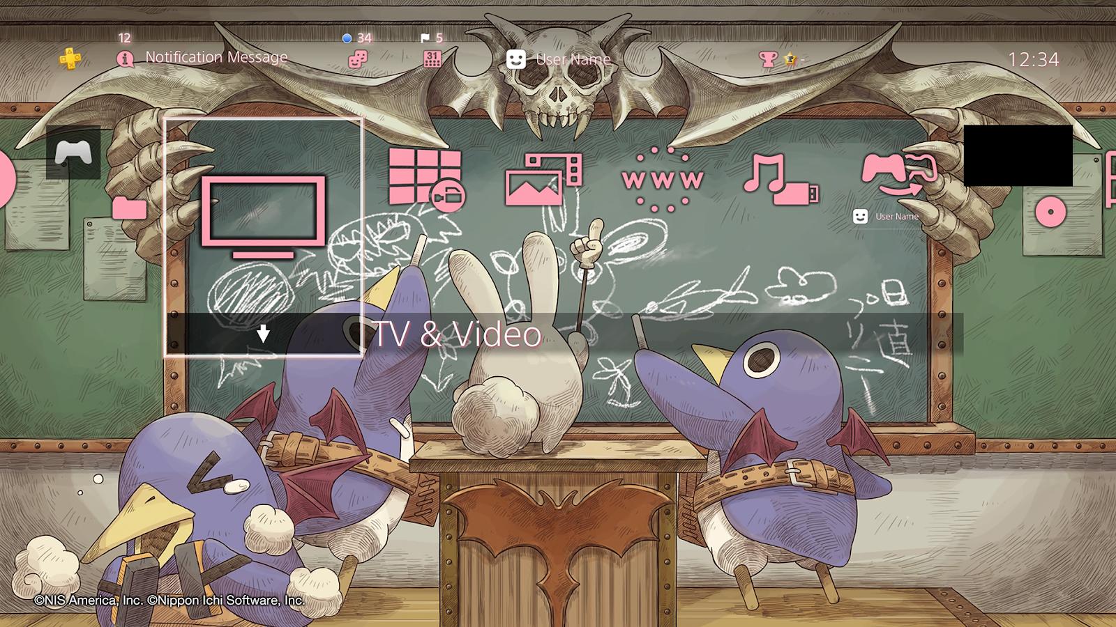 Prinny Ps4 Theme Wallpaper Teahub