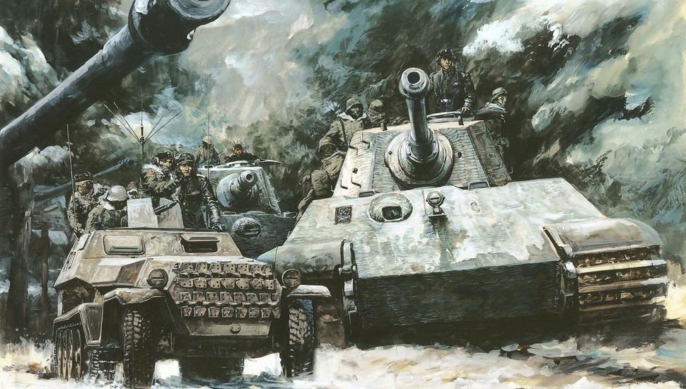 Tiger Ii, Royal Tiger, German, Tanks, Tiger 2, Heavy - World War King Tiger - HD Wallpaper