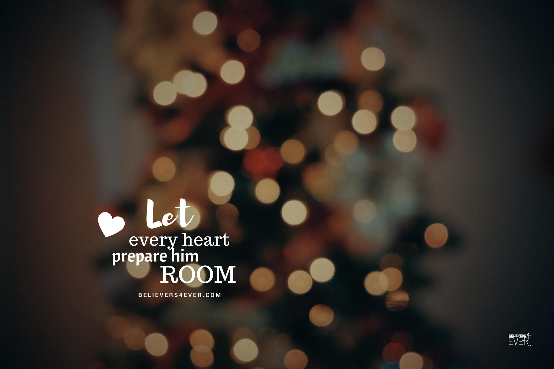 152 1526577 let every heart prepare him room jesus wallpaper