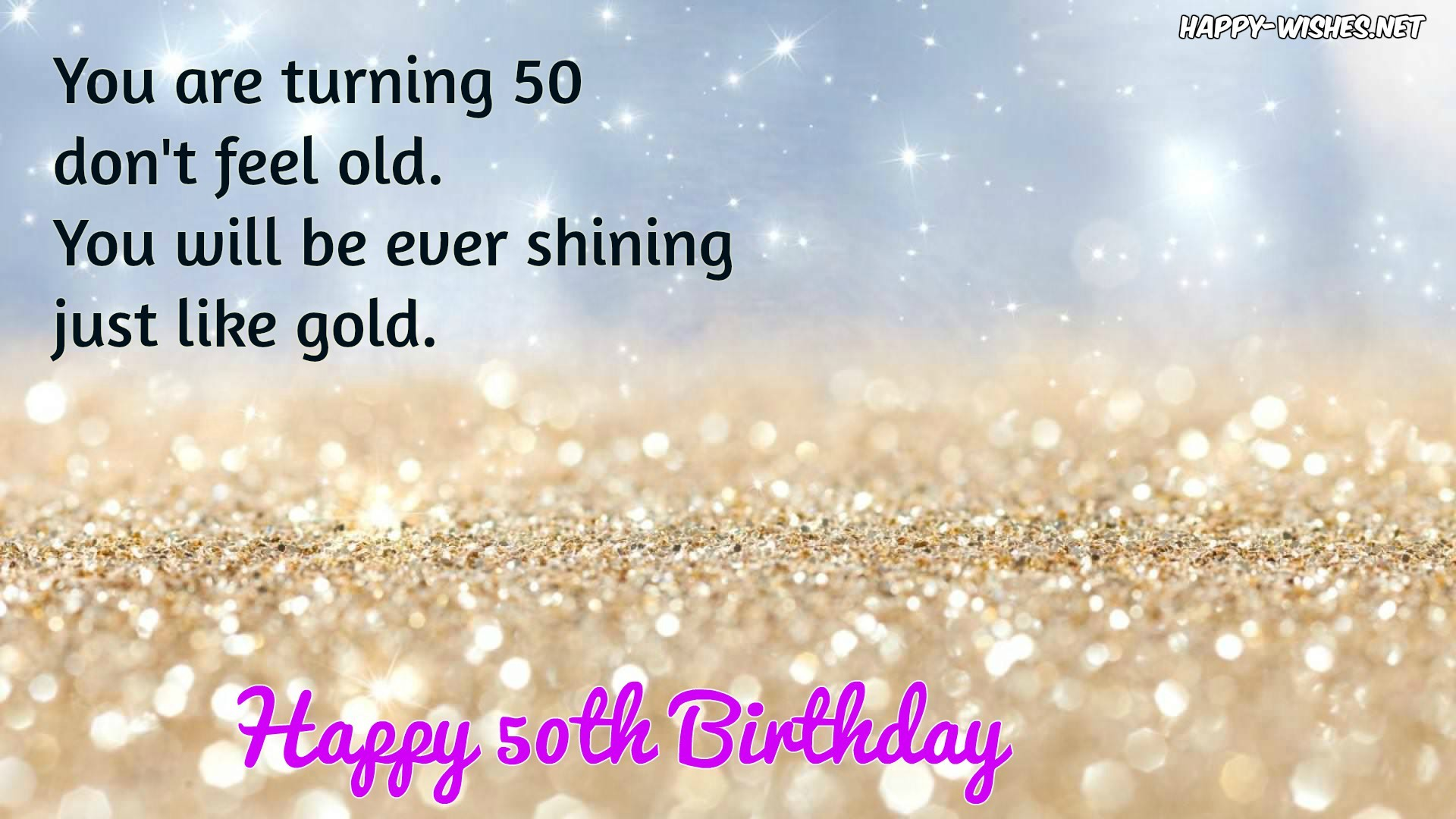 1920x1080, Happy 50th Birthday Quote   Data Id 141256 - 50th Birthday Quotes For Golden Birthday Mom - HD Wallpaper