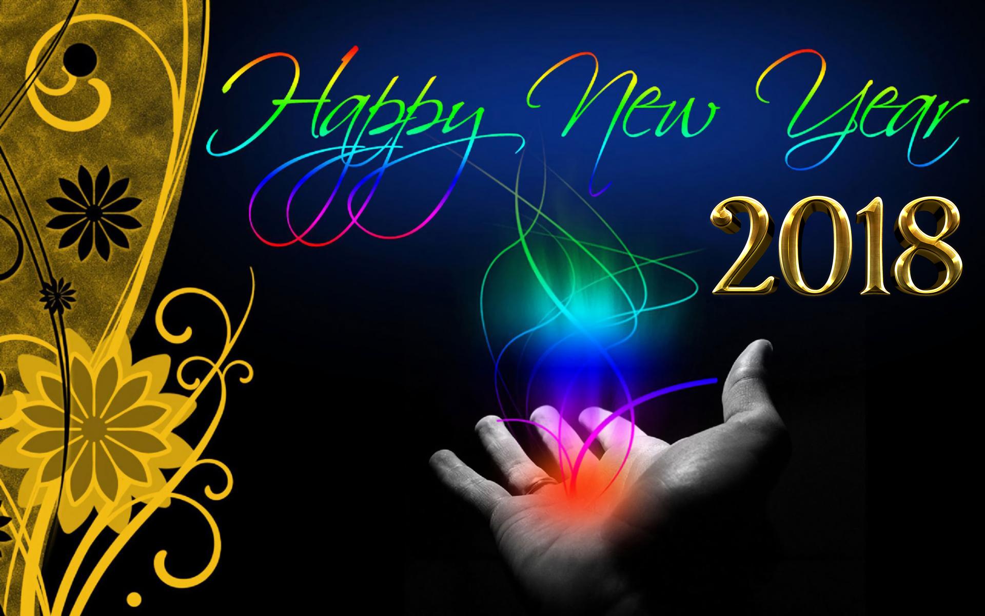 Magical Happy New Year - HD Wallpaper