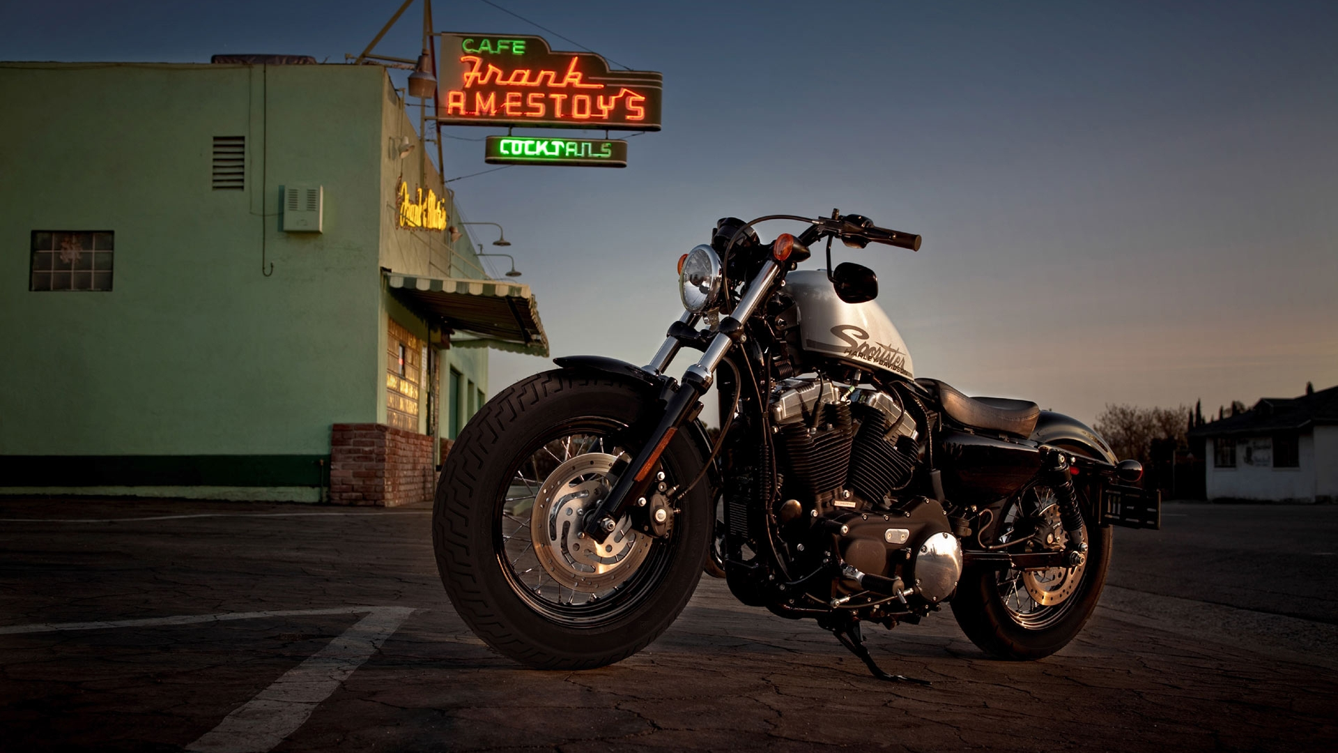 Harley Davidson Sportster Desktop - HD Wallpaper