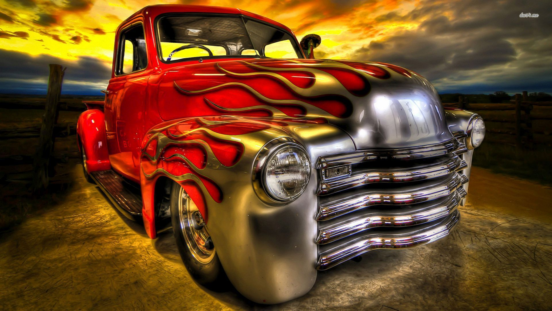 Hot Rod - HD Wallpaper
