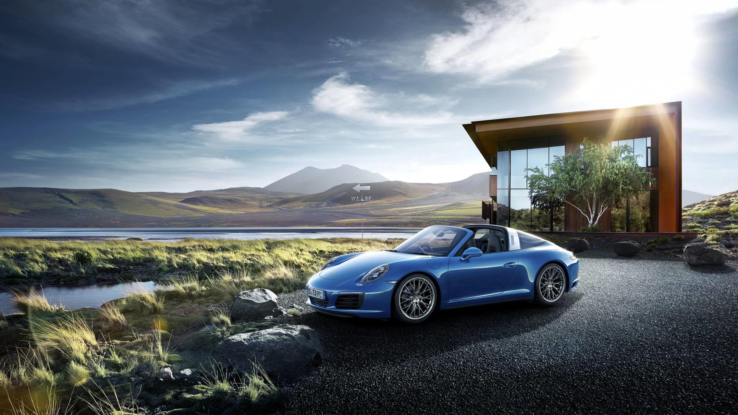 2500x1406, Porsche Wallpapers Top 943 Porsche Wallpapers - Porsche 911 Targa Wallpaper Hd - HD Wallpaper