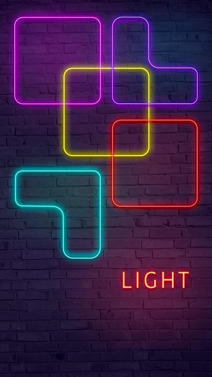 Iphone Wallpaper, Lights, And Shelves Image - Neon - HD Wallpaper