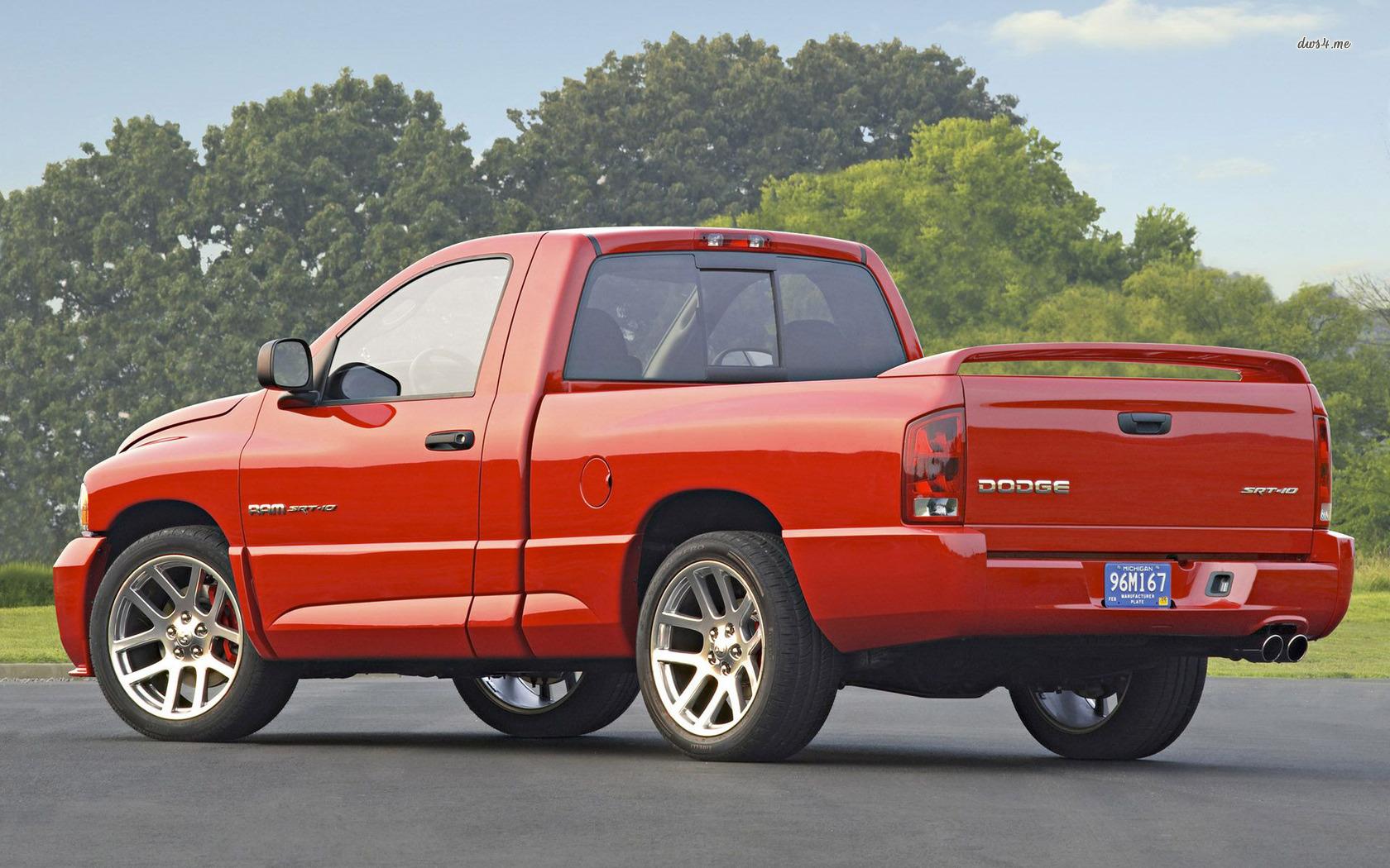 Dodge Ram Srt 10 Rear 1680x1050 Wallpaper Teahub Io