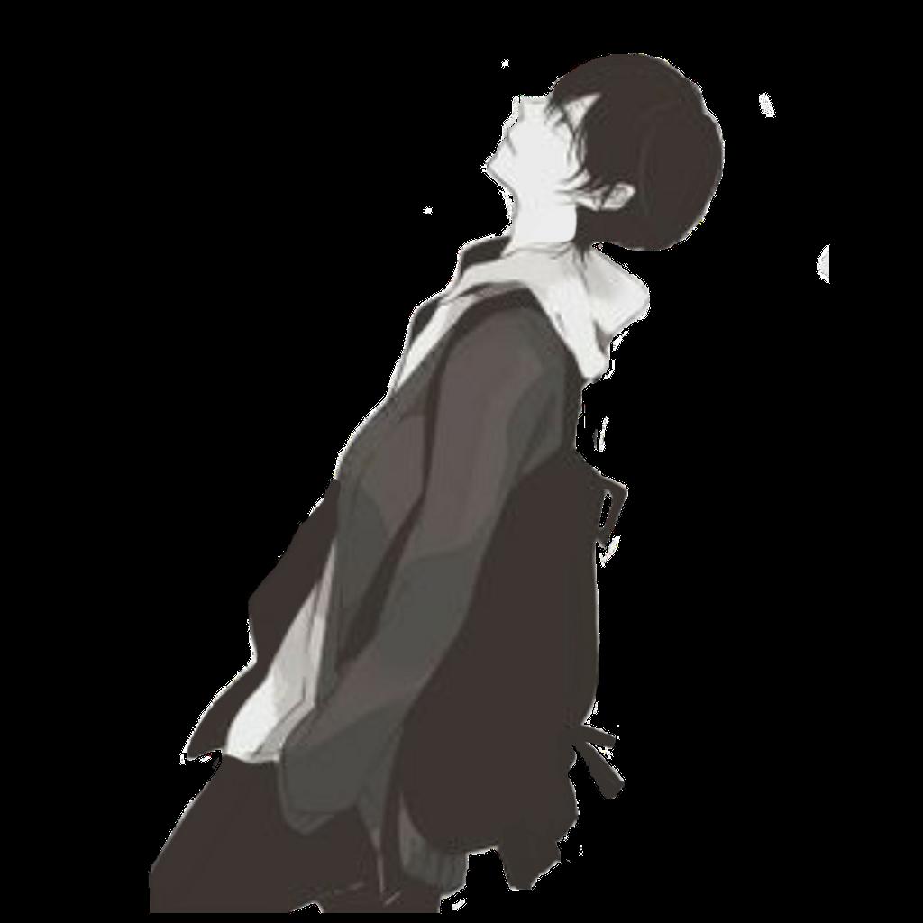 Sad Boy Png Photo Sad Anime Boy Png 1024x1024 Wallpaper Teahub Io