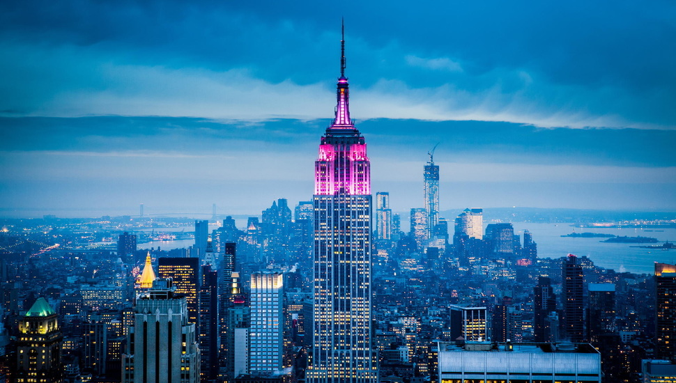 The City, Usa, Usa, America, New York, Empire State - New York City - HD Wallpaper