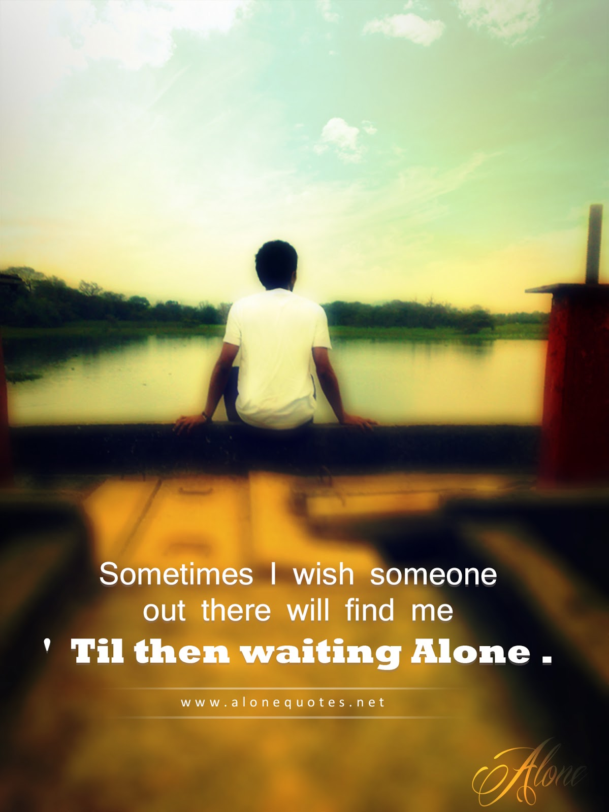 Sometimes I Wish Someone  out There Will Find Me  til - Quotes For Sitting Alone - HD Wallpaper
