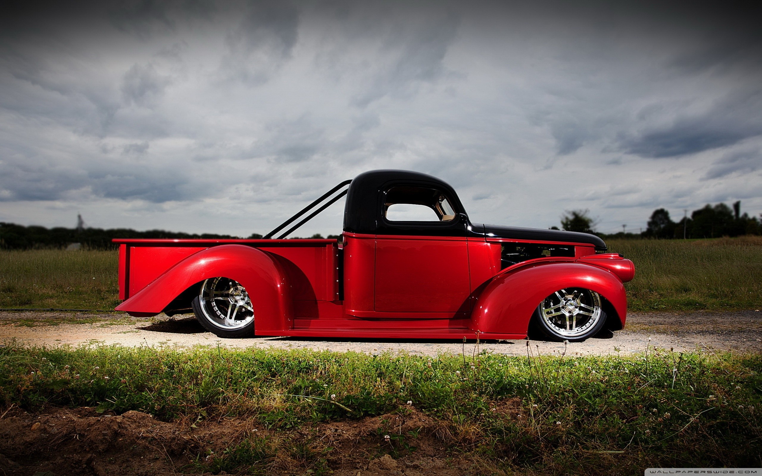 Wide   Data Src Cool Hot Rod Wallpapers For Iphone - Chevrolet C10 Hot Rod - HD Wallpaper