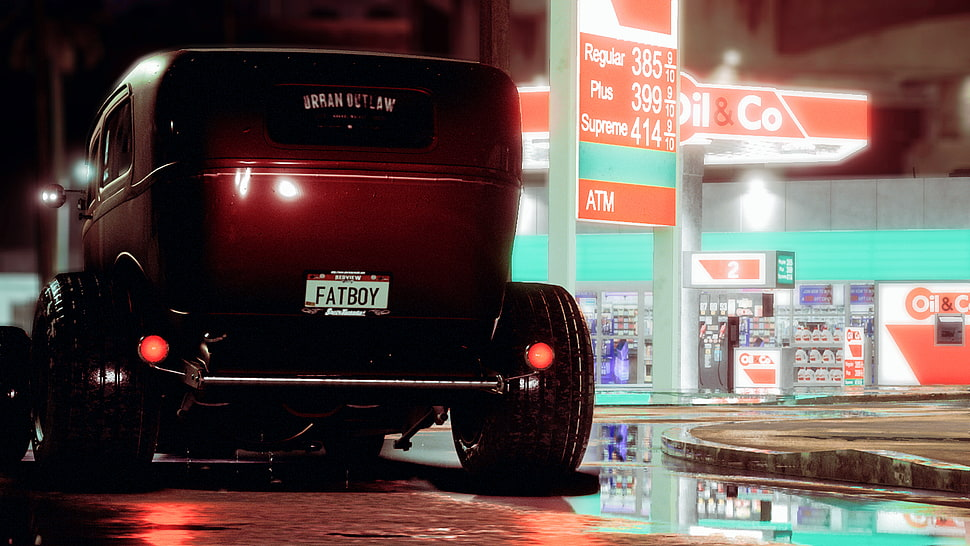 Red Car, Need For Speed, Ford, Hot Rod, Rat Rod Hd - Need For Speed Hot Rods - HD Wallpaper