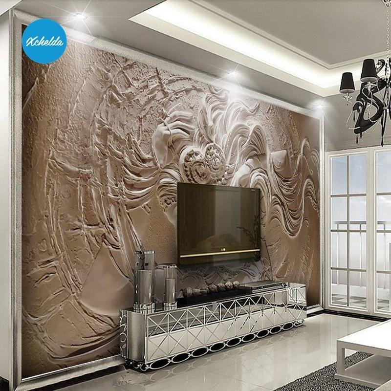 Angel Wall Painting - HD Wallpaper