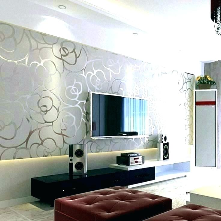Wallpaper Borders For Living Room Contemporary Wallpaper Feature Wall Ideas Lounge 736x736 Wallpaper Teahub Io