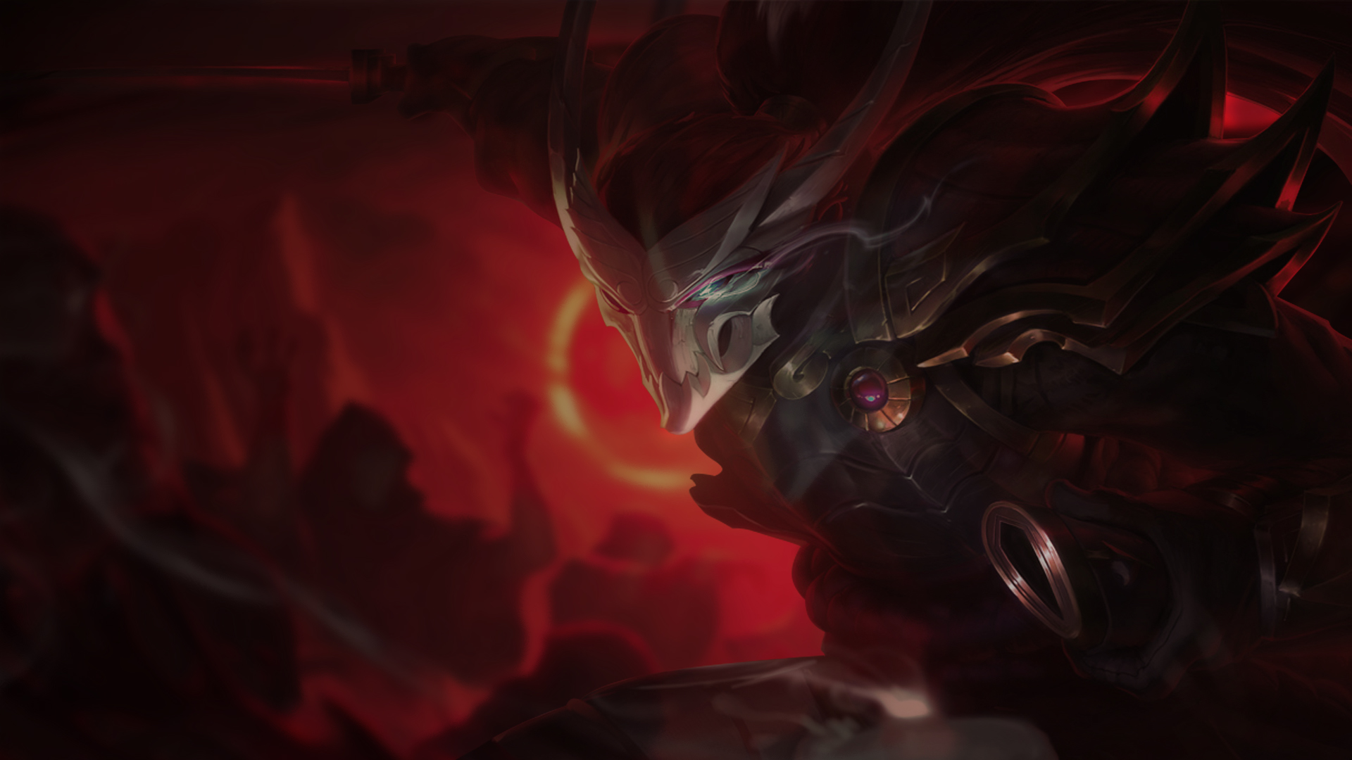 Blood Moon Yasuo Wallpaper Blood Moon Yasuo Fanart 1920x1080 Wallpaper Teahub Io