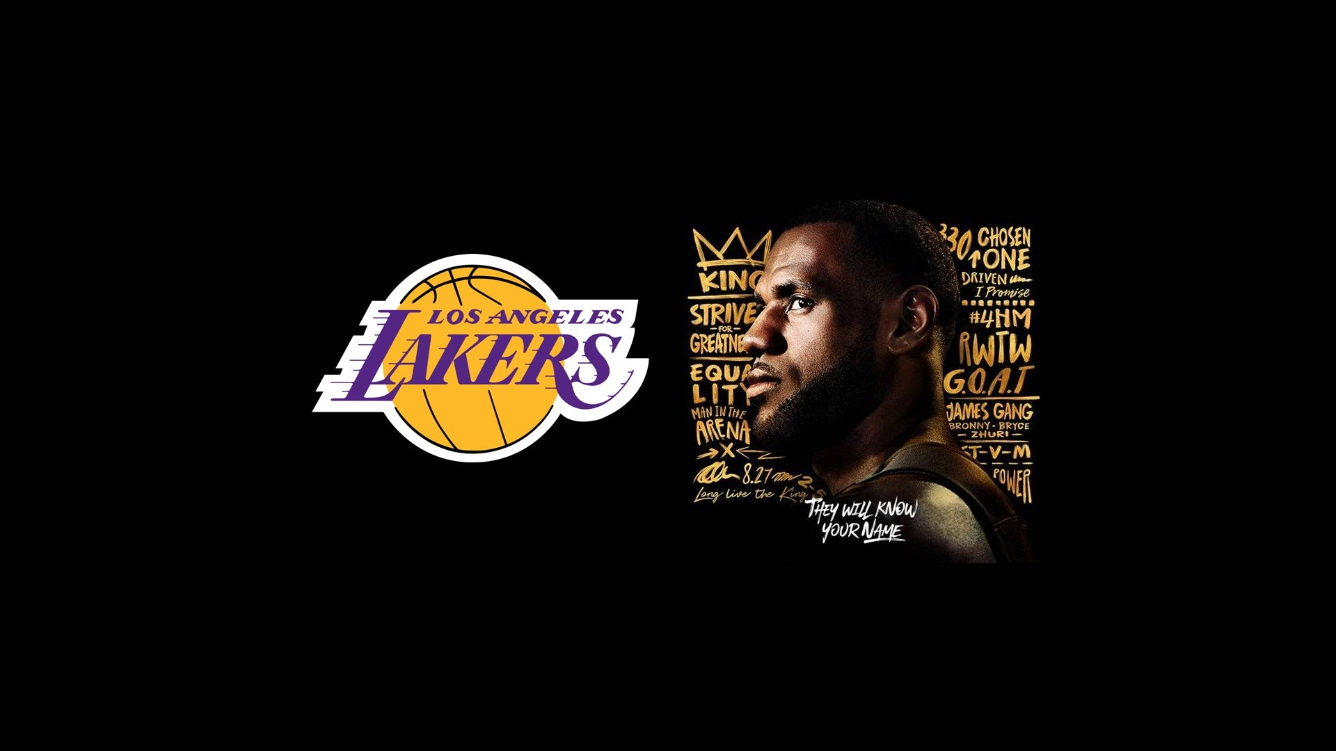 Hd Lebron James Lakers Wallpapers With Image Dimensions Angeles Lakers 1920x1080 Wallpaper Teahub Io