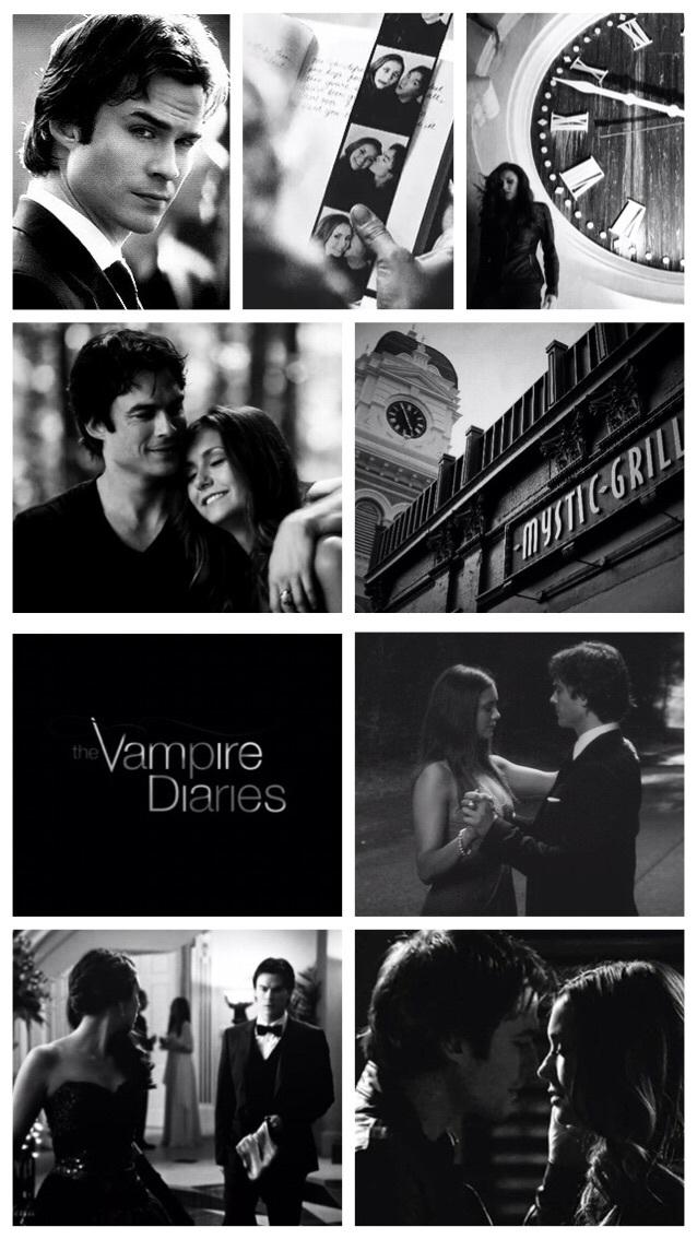 The Vampire Diaries Image - Vampire Diaries Delena - HD Wallpaper