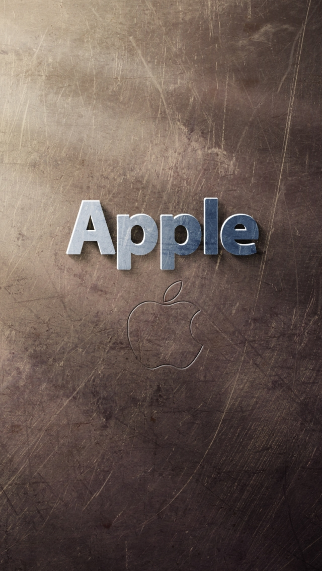 Cool Apple Logo Iphone Wallpaper - Abstract Apple Logo Wallpaper For Iphone 5 - HD Wallpaper