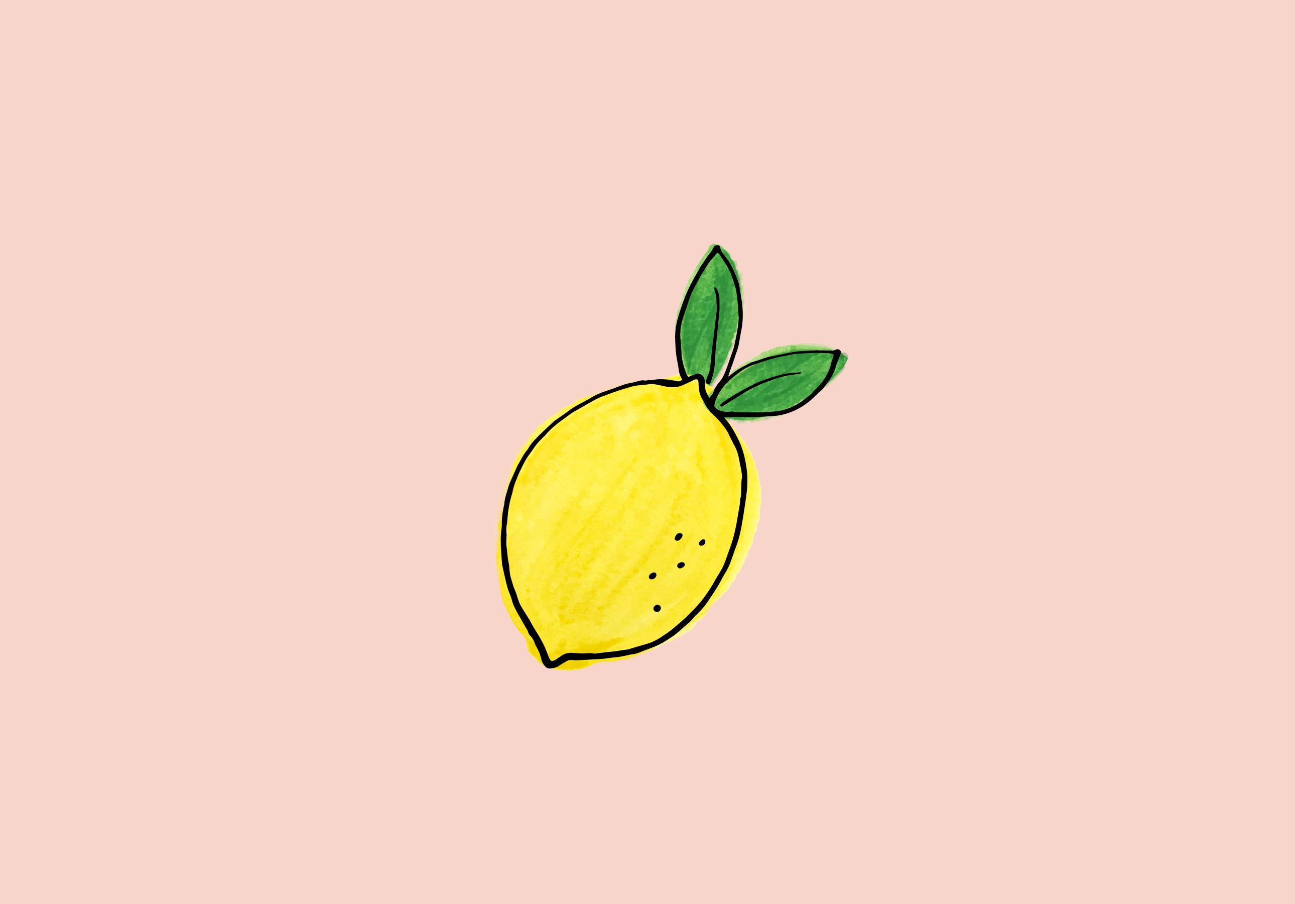 Aesthetic Wallpaper Lemon - HD Wallpaper