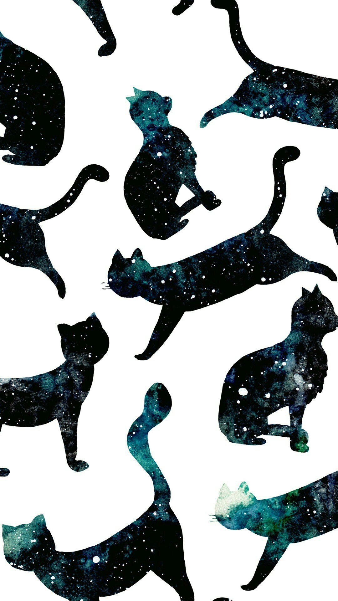 Wallpaper, Cat, Galaxy   Data-src - Cat Wallpaper Phone - HD Wallpaper