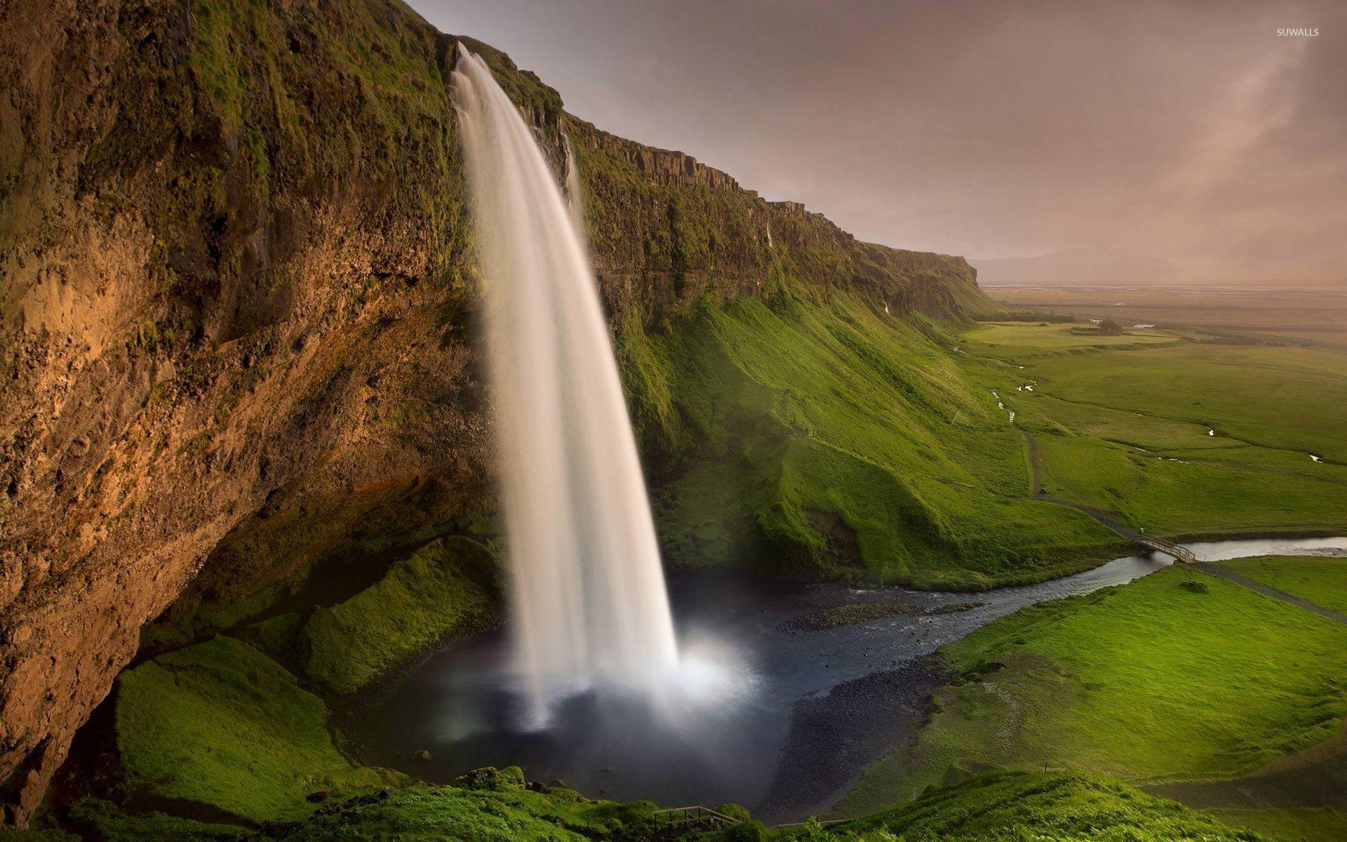 Seljalandsfoss Waterfall 1920x1200 Wallpaper Teahub Io