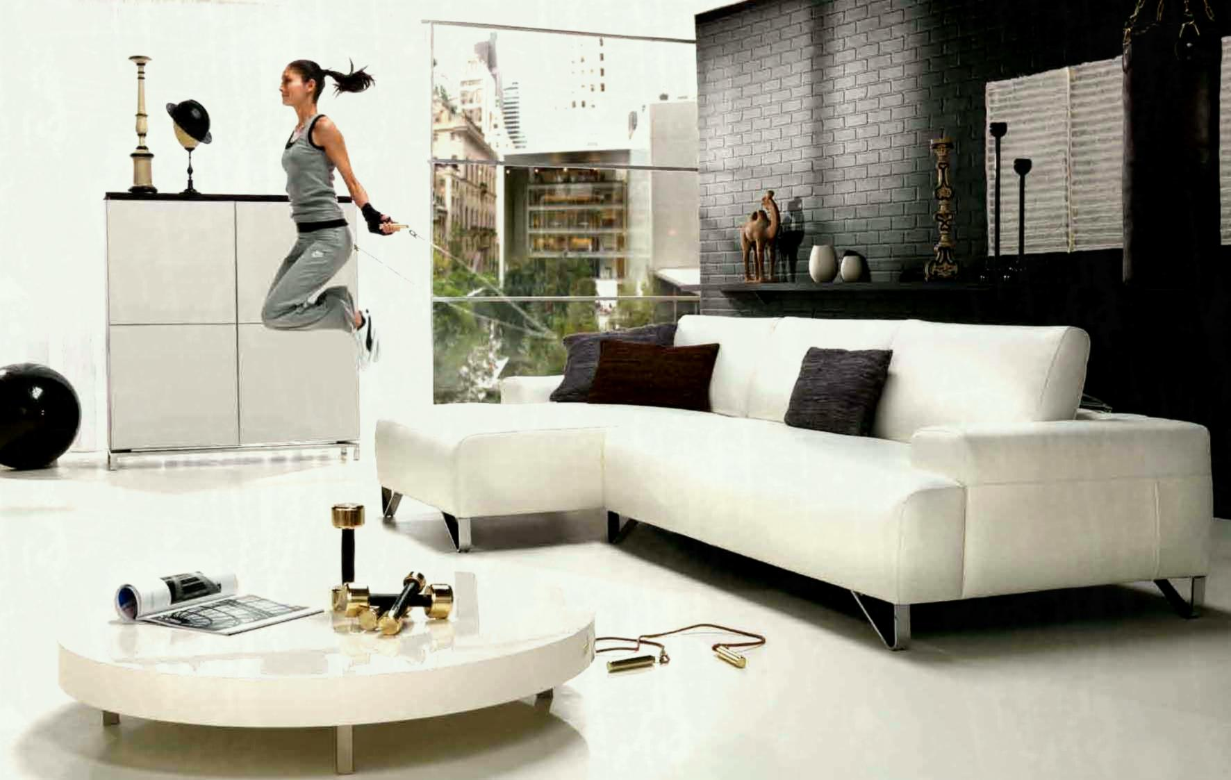 White Sectional Sofa Decorating Ideas, White Sectional Living Room Ideas
