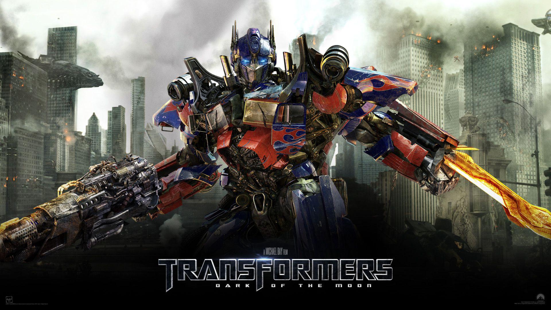 Transformers Classic Desktop Wallpaper - Transformers Optimus Prime Dark Of The Moon - HD Wallpaper