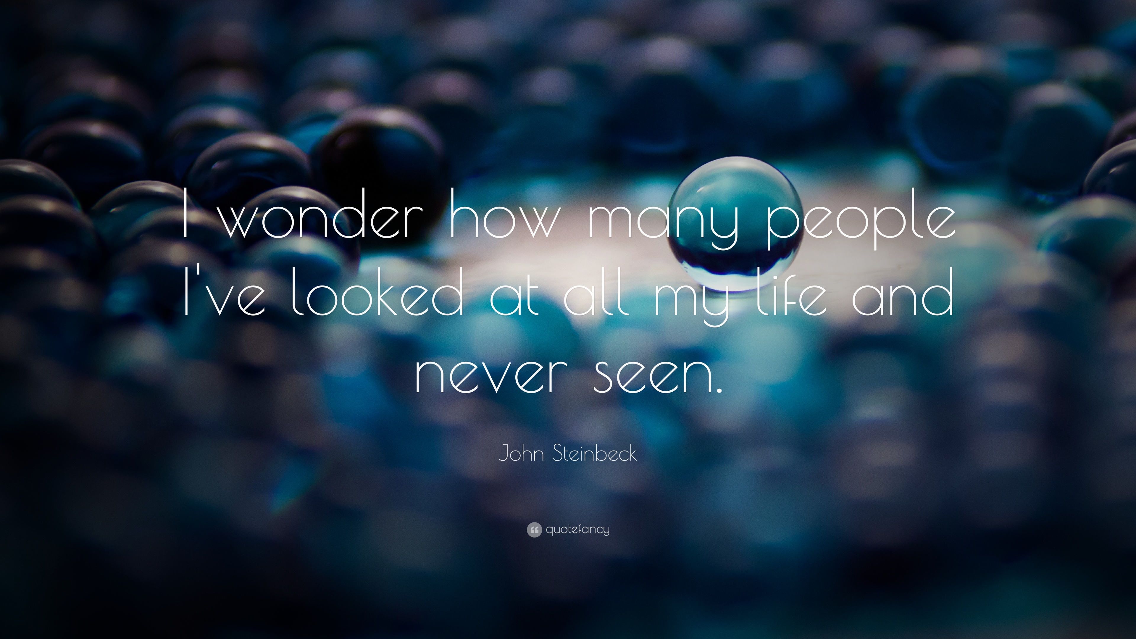"""""""i Wonder How Many People I Ve Looked At All My Life - Innovation Is The Only Way To Win - HD Wallpaper"""