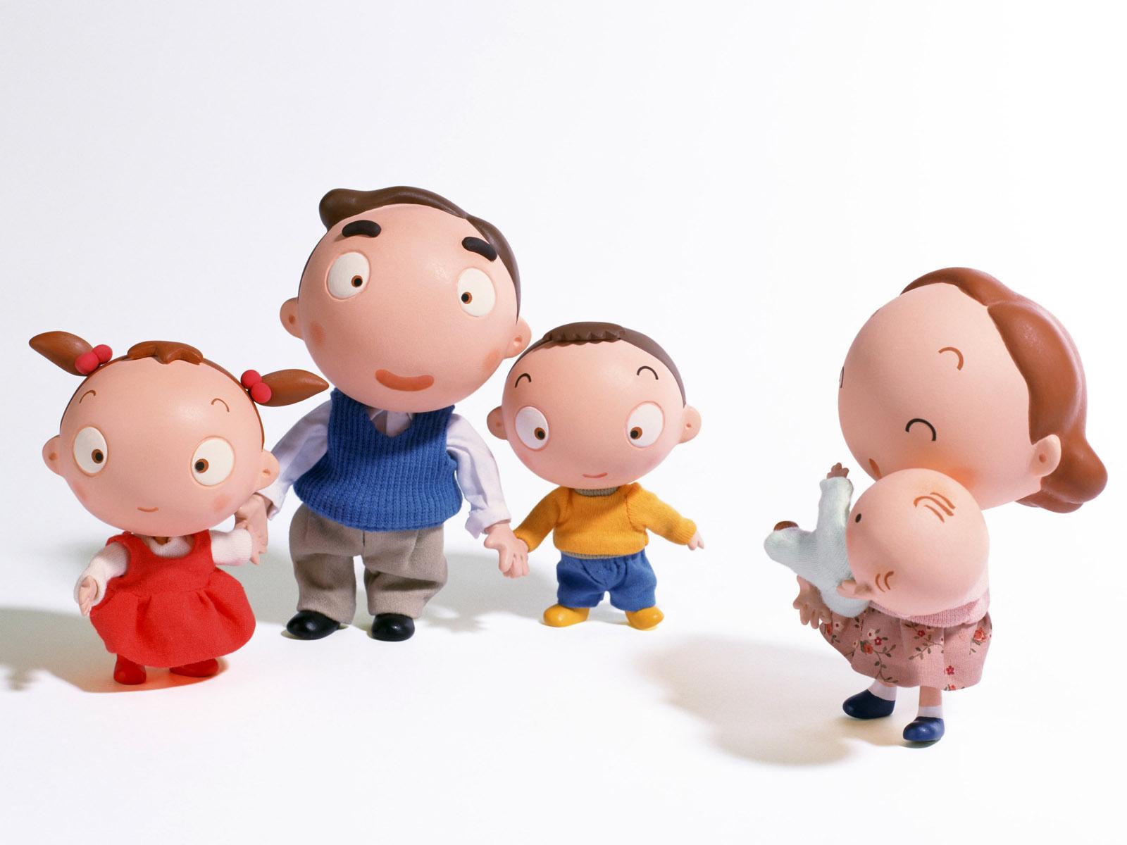 Download Happy Family Happy Life Cute Cartoon Picture Family Cartoon Wallpaper Hd 1600x1200 Wallpaper Teahub Io