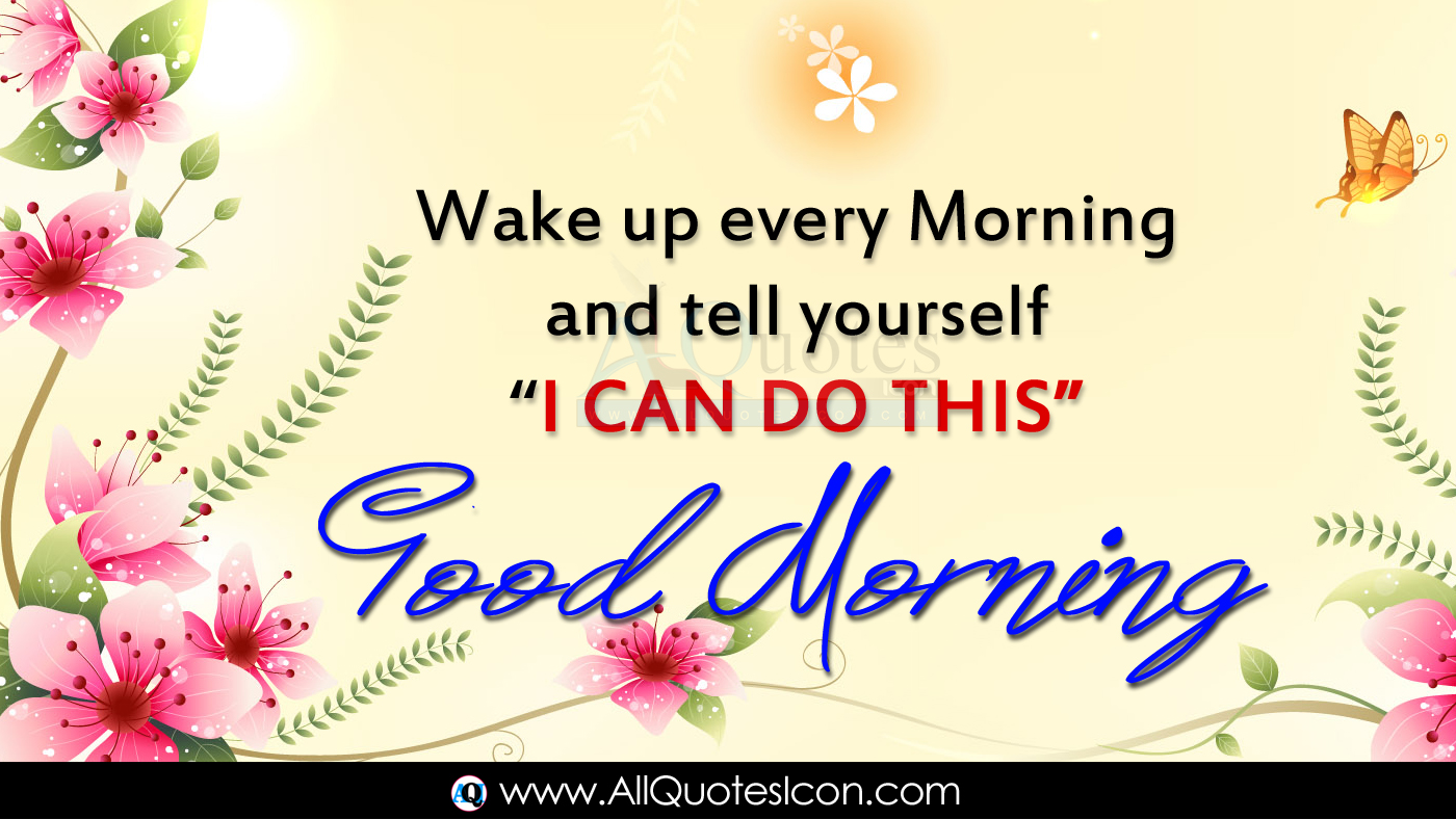 English Good Morning Quotes Wishes For Whatsapp Life - Good Morning Thoughts In English - HD Wallpaper