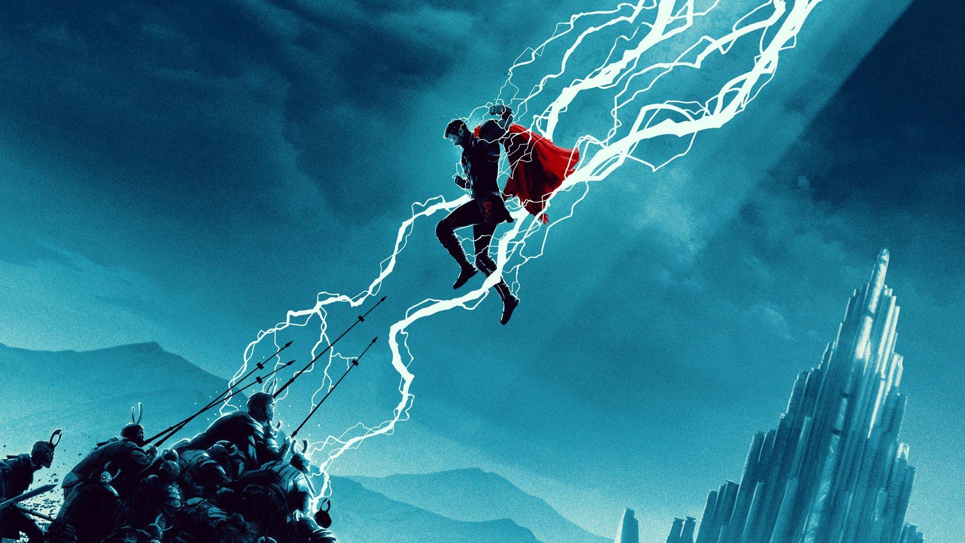 Lightning Thor Wallpaper 4k - HD Wallpaper
