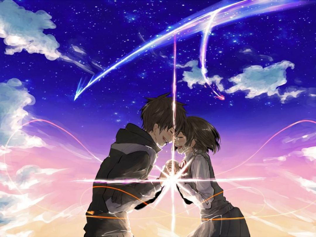 Your Name Anime Kimi No Na Wa Wallpaper Hd 1080x810 Wallpaper Teahub Io