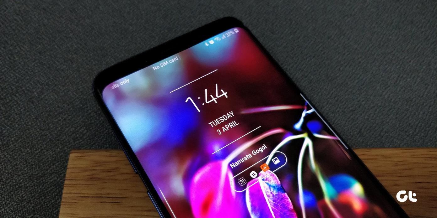 Samsung S9 Home Screen Layout - HD Wallpaper