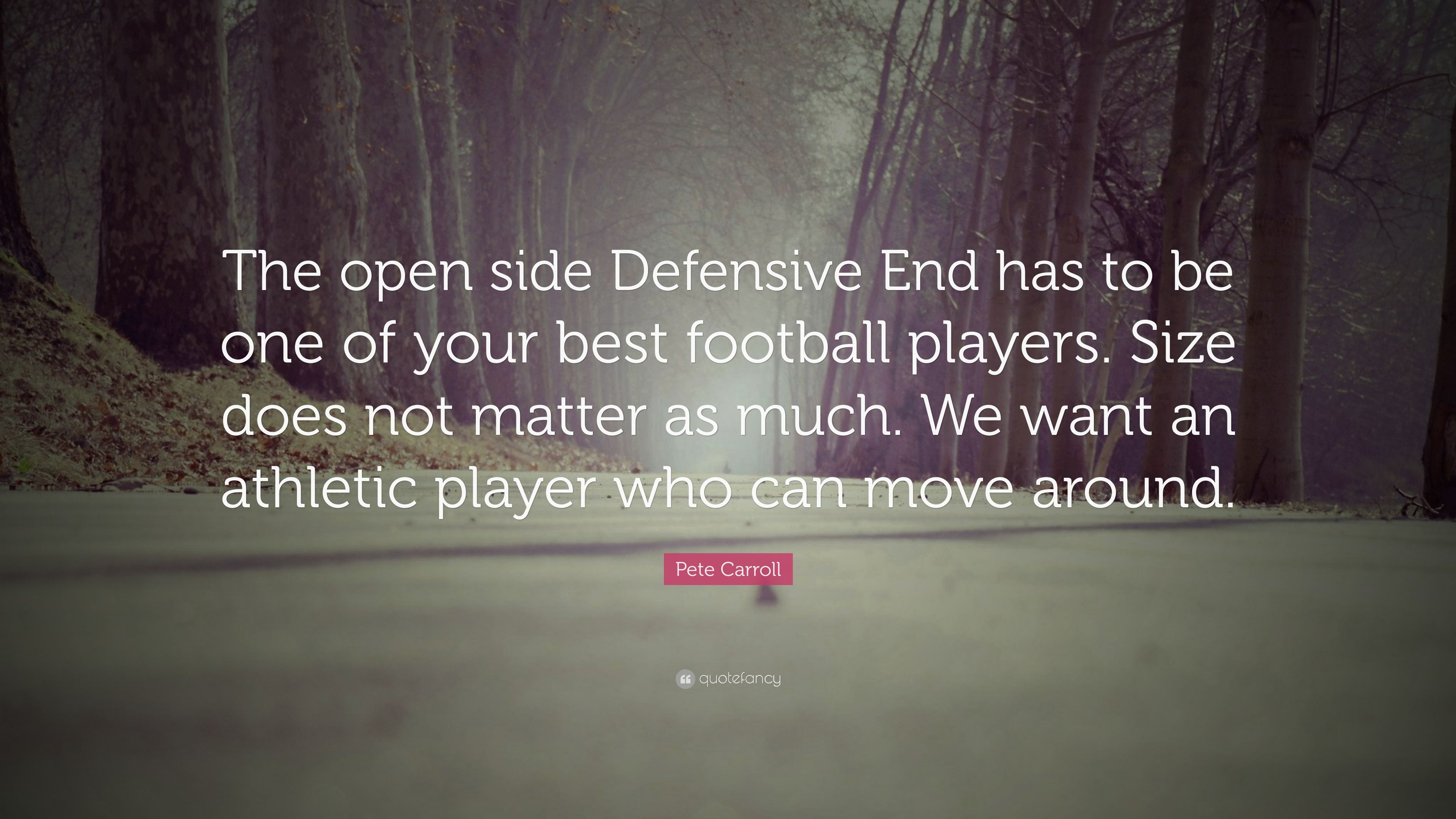 Pete Carroll Quote - No One Will Hit You Harder Than Life Itself - HD Wallpaper