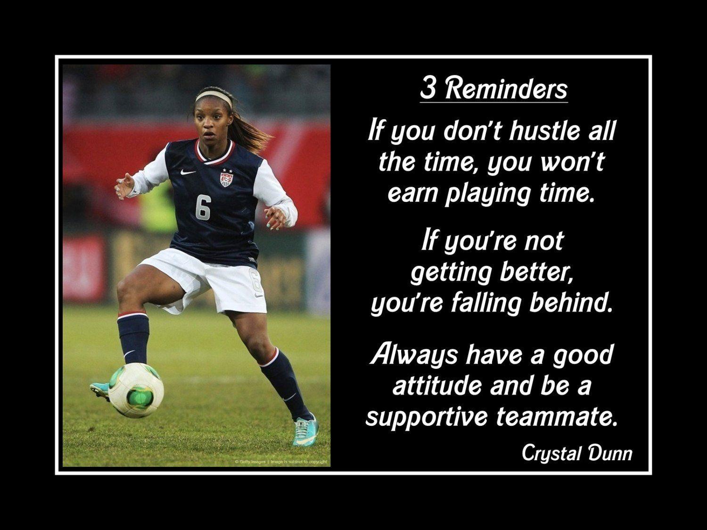 Motivational Quotes Girls Soccer - HD Wallpaper