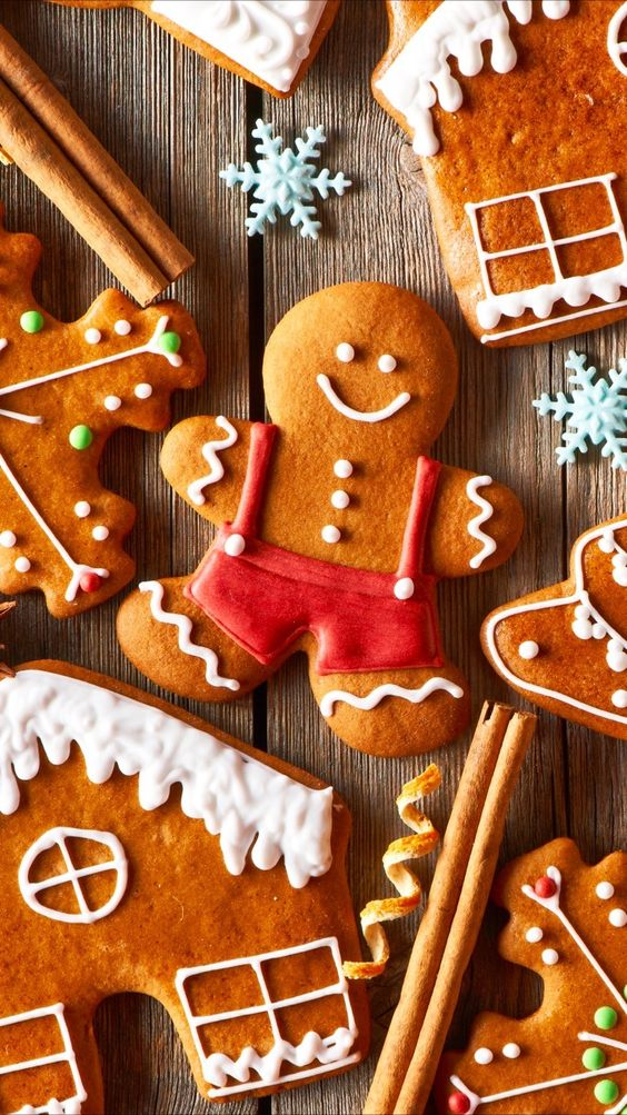 165 1658890 gingerbread christmas and cookie image christmas wallpaper gingerbread