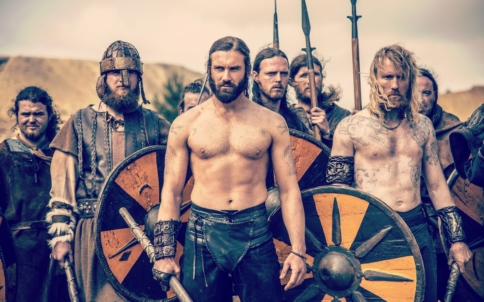 Movies Man Adult Weapon Group Sword Soldier War Military Real Vikings 1920x1200 Wallpaper Teahub Io