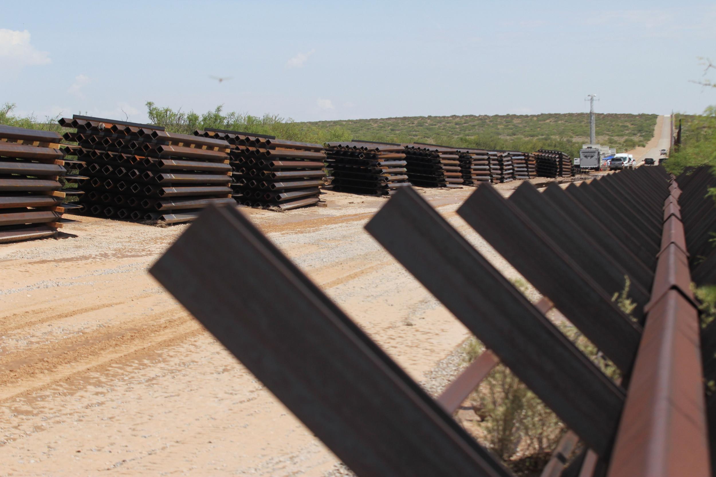 Border Wall Construction - Border Wall Construction Update - HD Wallpaper