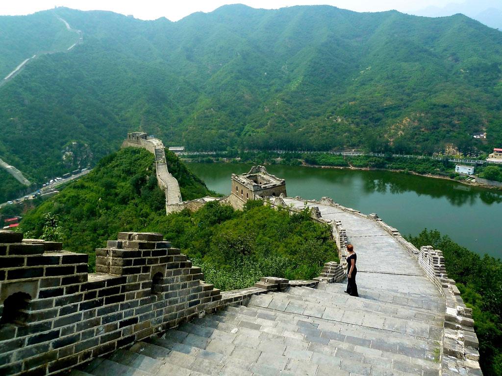Huanghuacheng Great Wall - Great Wall Of China Huanghuacheng - HD Wallpaper