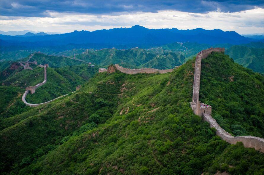Great Wall Of China Full Hd Wallpapers - China Landscape Great Wall - HD Wallpaper