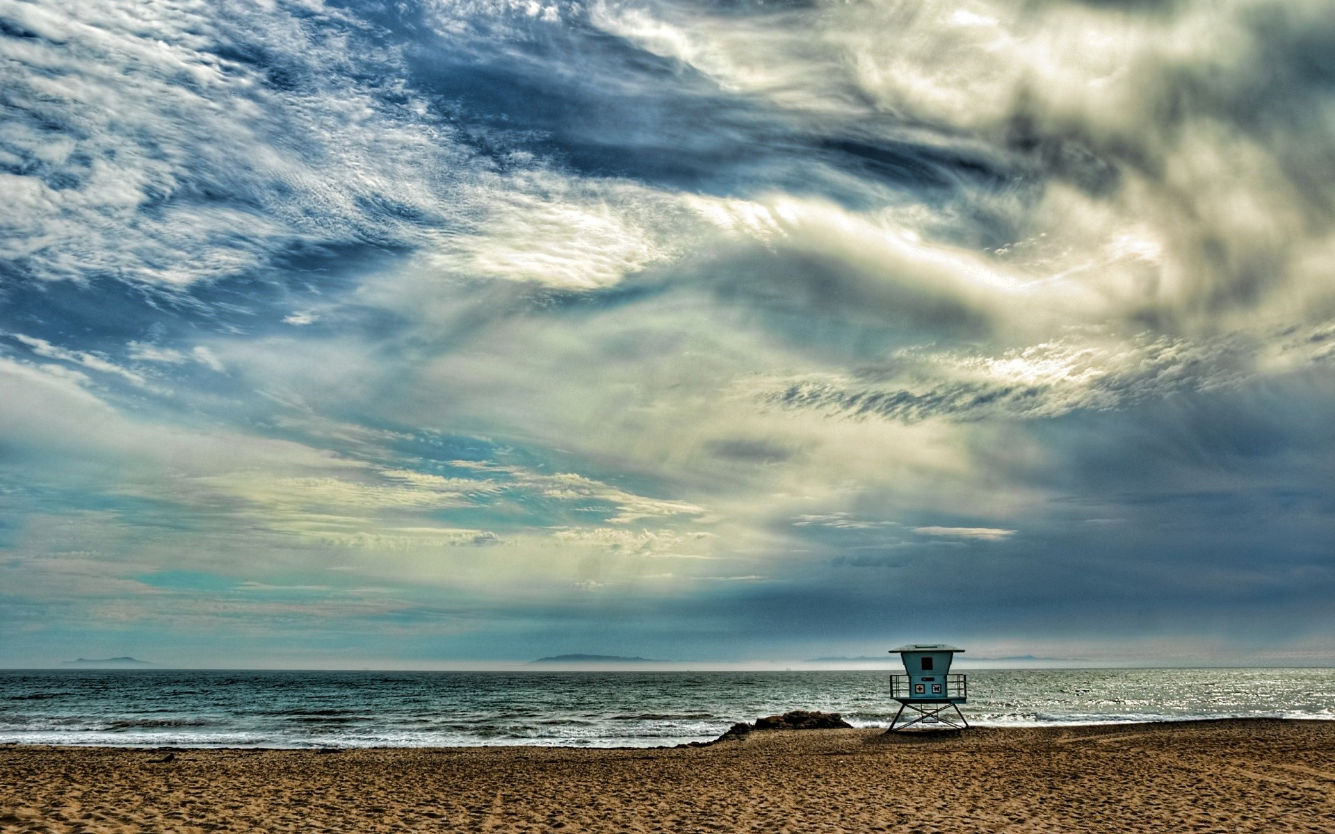 Sea And Ocean Water Sea Storm Ocean Beach Sky Sunset - Morning Beach - HD Wallpaper
