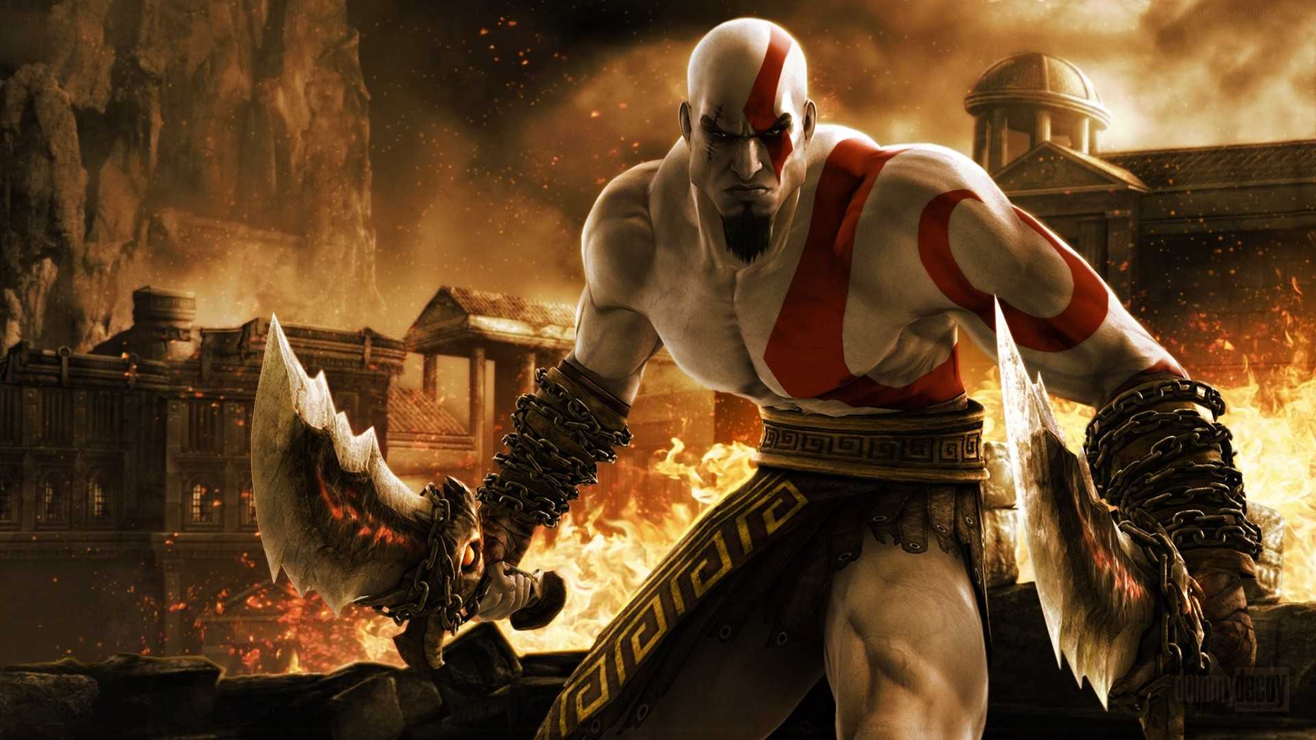 God Of War 3 Photo Cool Images Free High Definition - God Of War Hd Wallpaper For Pc - HD Wallpaper
