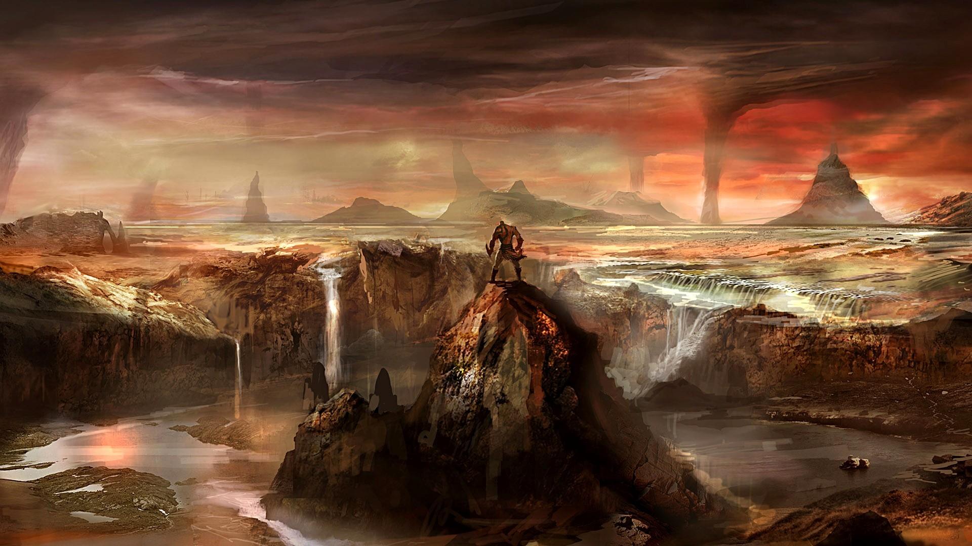God, Of, War, High, Definition, Desktop, Wallpaper, - God Of War 3 Background - HD Wallpaper