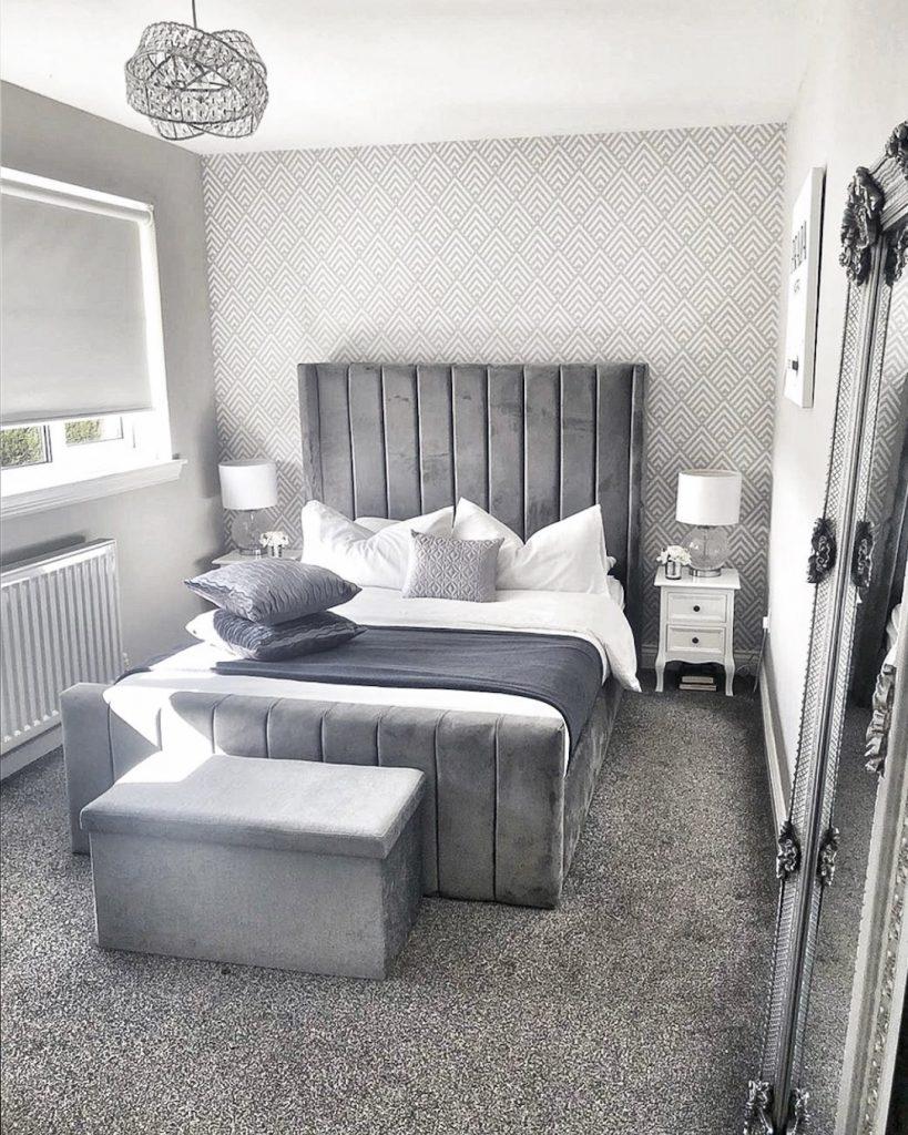 Grey Bedroom Wallpaper Ideas - 12x12 Wallpaper - teahub.io