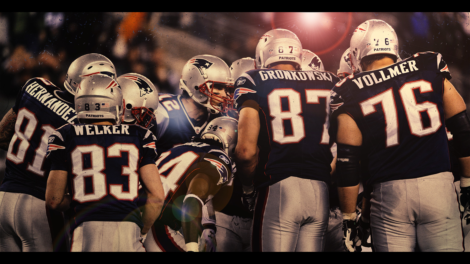 New England Patriots Wallpaper Large By Hottsauce13 - New England Patriots Wallpapers Hd - HD Wallpaper