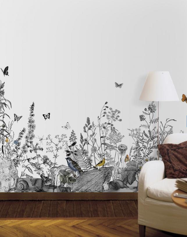 Wall Mural Hand Painting - HD Wallpaper