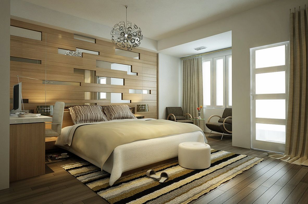 Modern Bedroom Wallpaper Ideas - Bedroom Design Ideas - HD Wallpaper