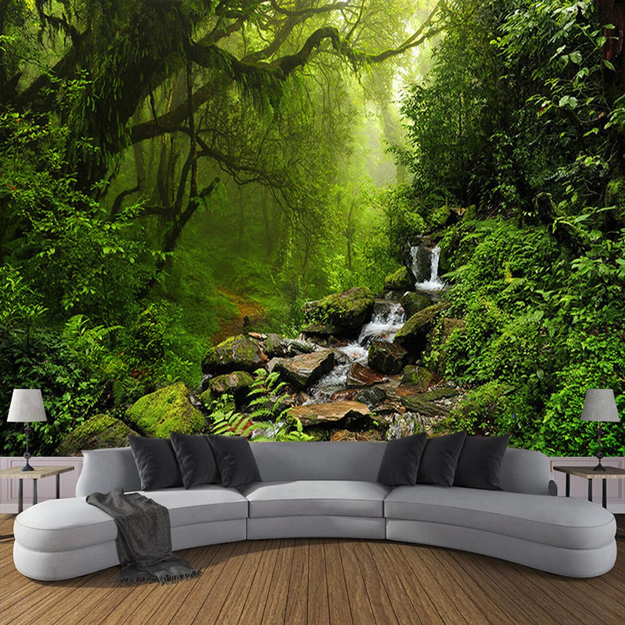 Custom 3d Wall Mural Wallpaper For Bedroom Photo Background - United Arab Emirates Forest - HD Wallpaper