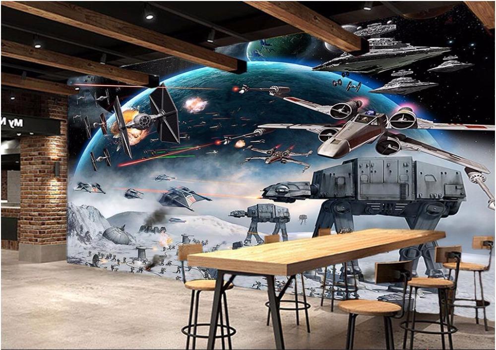 Star Wars Space Battle Art 1000x705 Wallpaper Teahub Io
