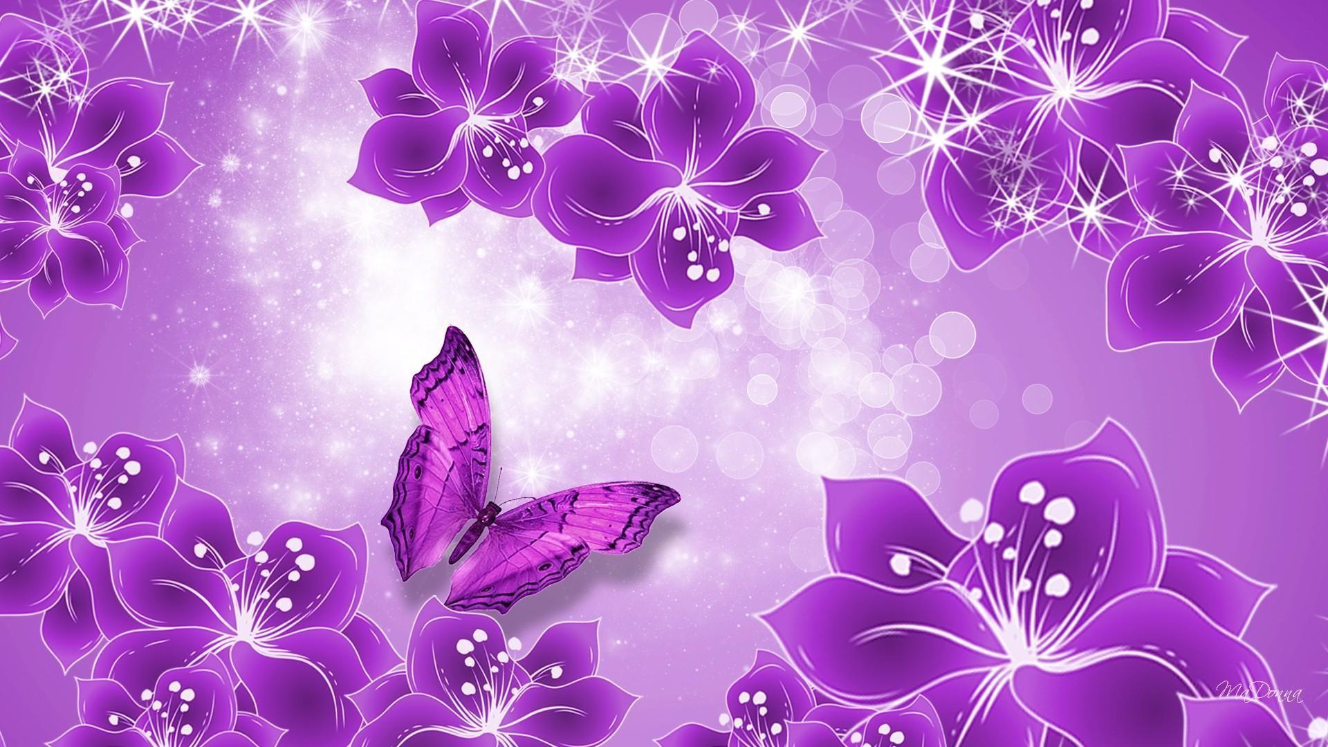 Data Src Purple Butterfly Background 1920x1080 Wallpaper Teahub Io